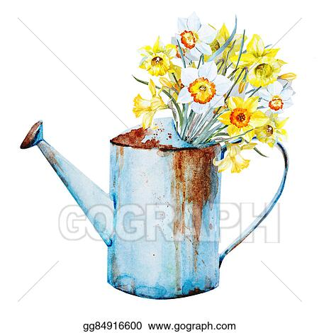 Stock illustration watercolor spring flowers clipart gg84916600 watercolor spring flowers mightylinksfo