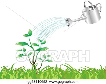 Vector Art Watering The Young Tree Clipart Drawing Gg58110652 Gograph Tree young adults, new braunfels, texas. https www gograph com clipart license summary gg58110652