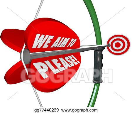 We Aim to Please Clip Art