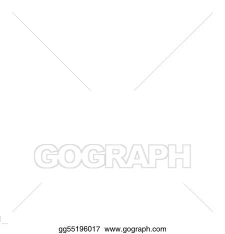 Vector Illustration Weak Broke Dollar Us Currency Money Stock