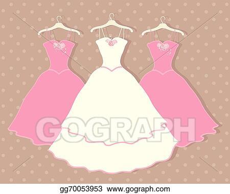 Vector Stock Wedding Dress Stock Clip Art Gg70053953 Gograph,Wedding Dress Makers Sydney