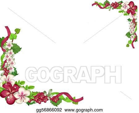 Flower Corner Border Drawing Same Day Flower Delivery