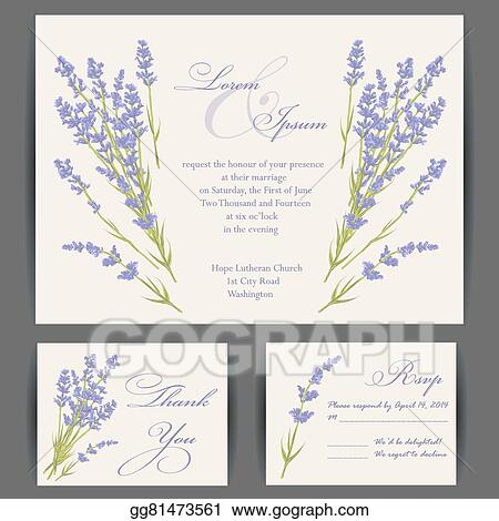 clip art vector wedding invitation card stock eps gg81473561 gograph gograph