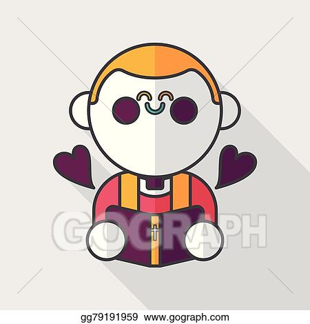 Wedding Priest Flat Icon With Long Shadow Eps10 Presiding Over A Ceremony