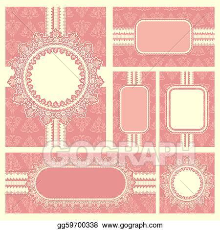 Clip art vector wedding reception invitation card stock eps wedding reception invitation card stopboris Image collections
