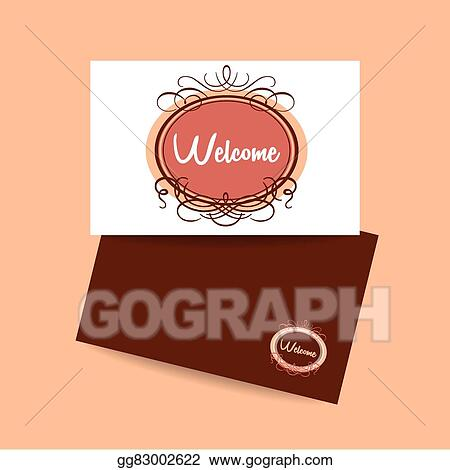 Vector stock welcome invitation template clipart illustration vector stock welcome design template invitation gala decorations clipart illustration gg83002622 stopboris Gallery
