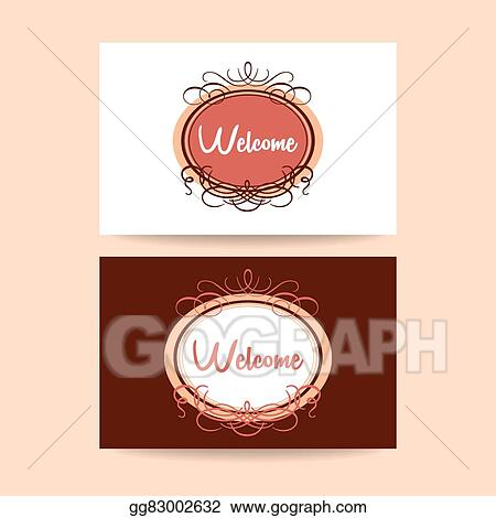 Vector stock welcome invitation template clipart illustration vector stock welcome design template invitation gala decorations clipart illustration gg83002632 stopboris Gallery