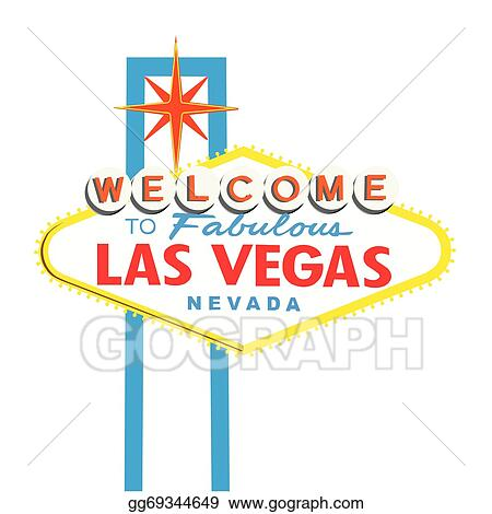 vector stock welcome to las vegas sign copy stock clip art rh gograph com las vegas clipart las vegas clip art and graphics