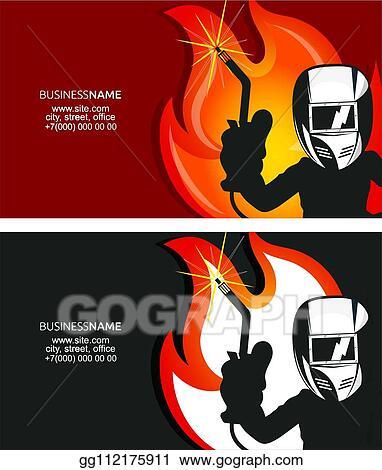 Welding Business Card Design Pics
