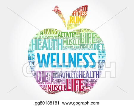 Wellness clipart  Stock Illustration - Wellness. Clipart gg80138181 - GoGraph