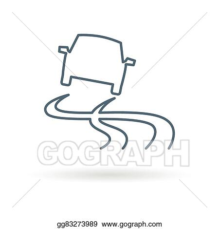 Wet Road Clip Art