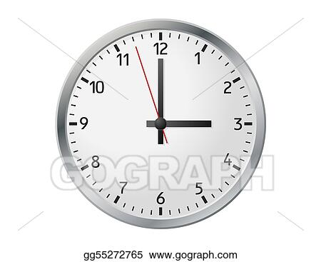 Clock Face Clip Art Royalty Free Gograph
