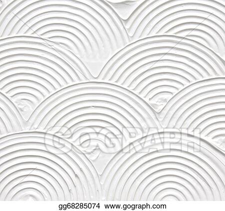 stock illustrations white textured acrylic painting background