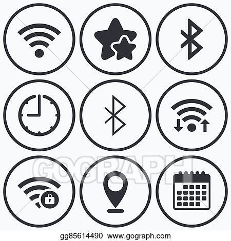 Network Symbols Clip Art