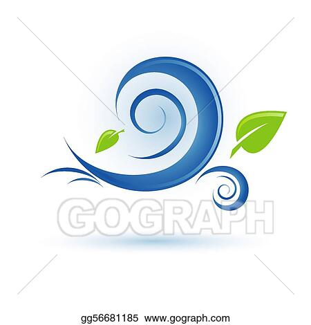 Clipart Wind Icon Stock Illustration Gg56681185 Gograph
