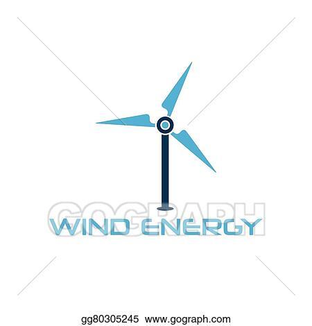 vector clipart wind turbine vector design template vector