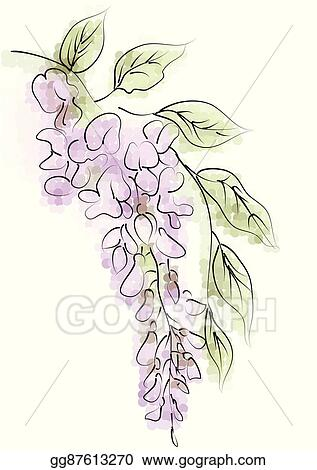 Wisteria Clipart | Free Images at Clker.com - vector clip art online,  royalty free & public domain