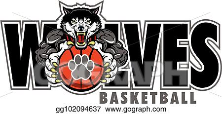 Volleyball Clipart Wolf - St John Paul The Great Wolves - Free Transparent  PNG Clipart Images Download