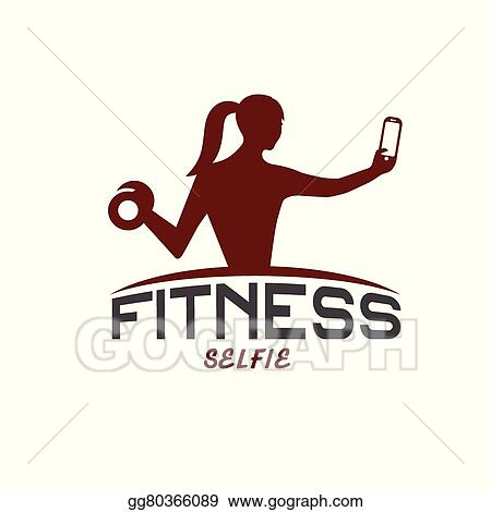 vector illustration woman of fitness silhouette character make