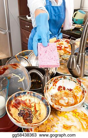 why women wash the dishes