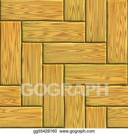 Stock Illustration Wood Flooring Clipart Drawing