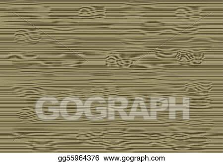 Vector Clipart Wood Grain Texture Vector Illustration Gg55964376