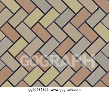 Wooden Floor Vector Tile Seamless Pattern