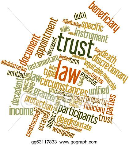 Drawings - Word cloud for trust law. Stock Illustration gg63117833 ...