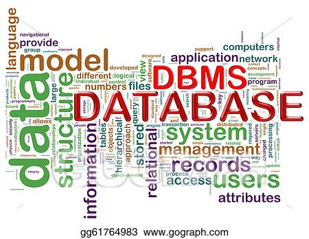 drawing word tags of dbms clipart drawing gg61764983 gograph