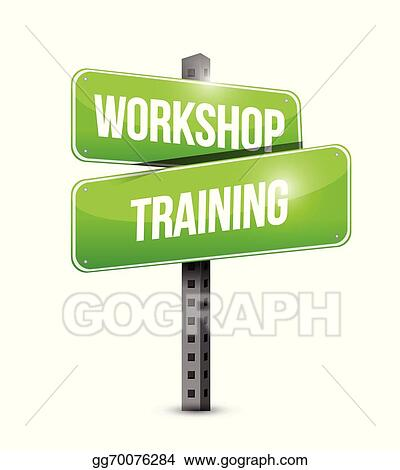 EPS Illustration - Workshop training street sign