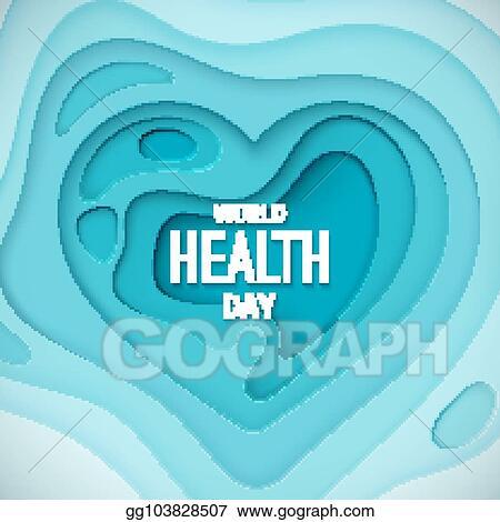 Vector Illustration World Health Day Banner Eps Clipart Gg103828507 Gograph