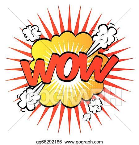 eps vector wow pop art stock clipart illustration gg66292186 rh gograph com wow clip art words pow wow clip art