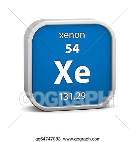 Clipart xenon material sign stock illustration gg64747083 gograph clipart xenon material on the periodic table part of a series stock illustration gg64747083 urtaz Images