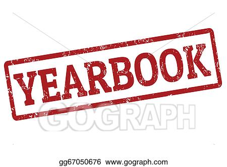 eps illustration yearbook stamp vector clipart gg67050676 gograph rh gograph com 2017-2018 Yearbook Clip Art 2017-2018 Yearbook Clip Art