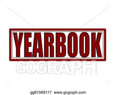 vector illustration yearbook eps clipart gg67569177 gograph rh gograph com Yearbook Sale Clip Art Lifetouch Yearbook Clip Art