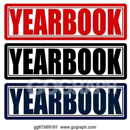 vector illustration yearbook eps clipart gg67569181 gograph rh gograph com Yearbook Clip Art 2017 Yearbook Clip Art 2017