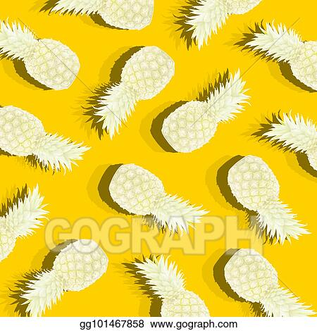 Stock Illustration - Yellow background with image of ripe ...