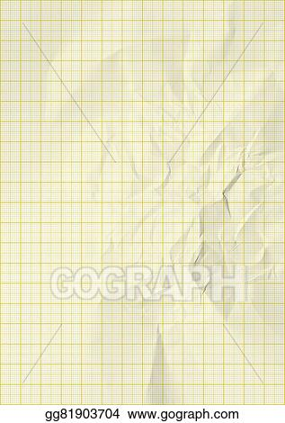 stock photography yellow color lines graph millimeter paper stock