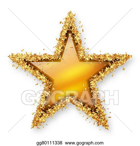 yellow gold topaz coloured gemstone star with golden starlet border