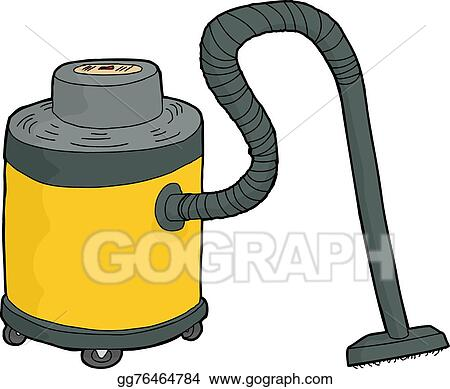 vector illustration yellow shop vac eps clipart gg76464784 gograph