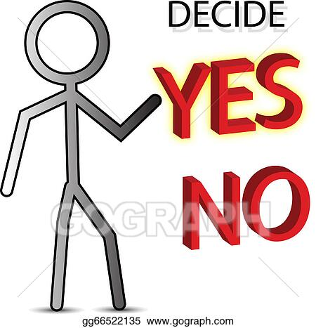 Yes Or No Clip Art Royalty Free Gograph