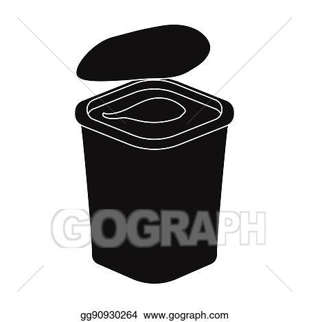 Free Yogurt Clipart Black And White, Download Free Clip Art, Free Clip Art  on Clipart Library