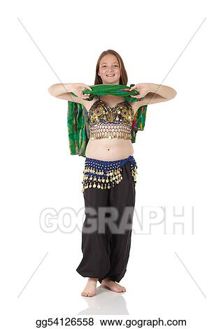 252d98e75650 Stock Photo - Young belly dancing girl. Stock Photography gg54126558 ...