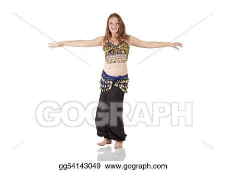 ee44f0fb5598 Stock Photo - Young belly dancing girl. Stock Photography gg54143049 ...