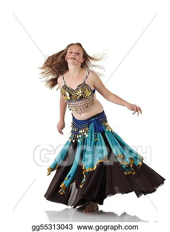 69a802b56eef Stock Photo - Young belly dancing girl. Stock Photography gg55313043 ...