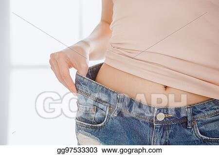 19b73b223 Pictures - Young woman weight loss perfect body shape. Stock Photo ...