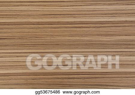 Stock Photo Zebrano Wood Stock Photography Gg53675486 Gograph