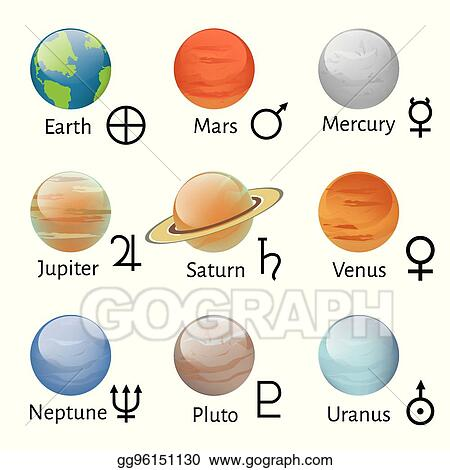 Clip Art Vector Zodiac And Astrology Symbols Stock Eps Gg96151130